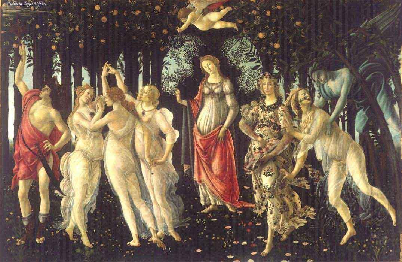 entre Amour et Mariage .. moi j'ai choisi .. le Printemps (de Botticelli) dans actualité printemps